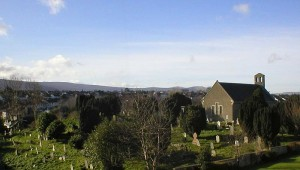 St Nahi's church and graveyard, Dundrum