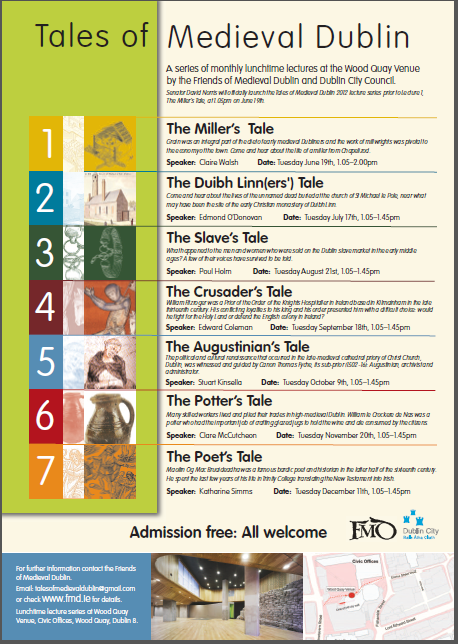 Tales of Medieval Dublin 2012