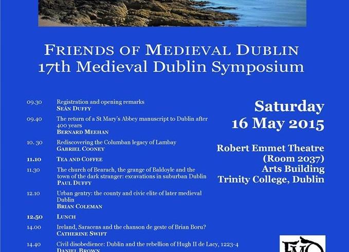 17th Medieval Dublin Symposium Recap