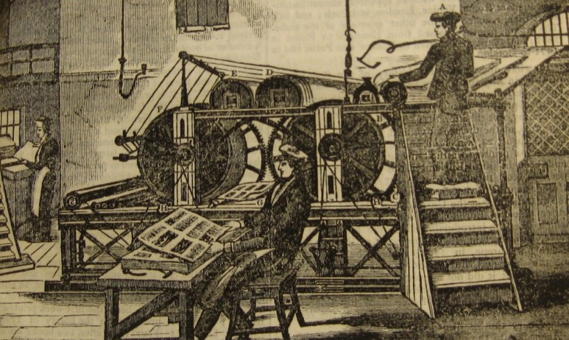 'The establishment of the printing press'